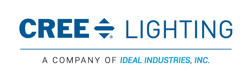 Cree-Lighting_IDEAL_Lock-Up_Horizontal_Blue (Web)