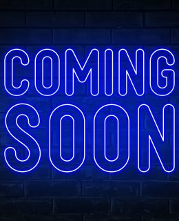 coming-soon-blue-neon-light-word-on-brick-wall-bac-JPMPCY6